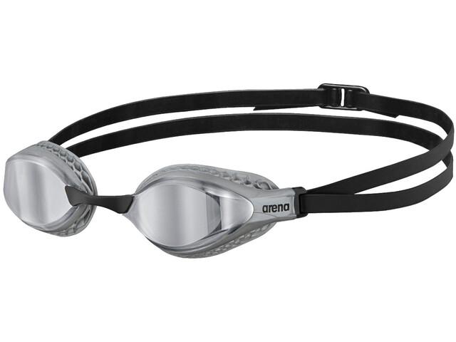 arena Airspeed Mirror Gafas Natación, silver/silver